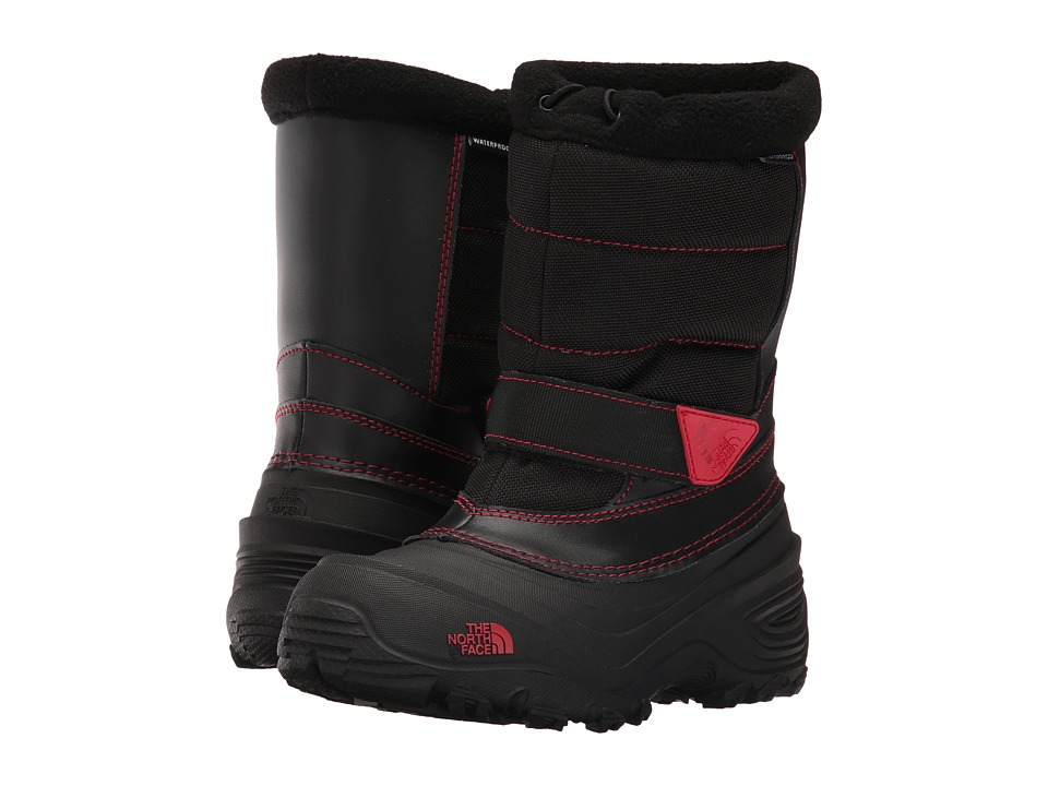 The North Face Kids Alpenglow Extreme II (Toddler/Little Kid/Big Kid) (TNF Black/TNF Red) Boys Shoes