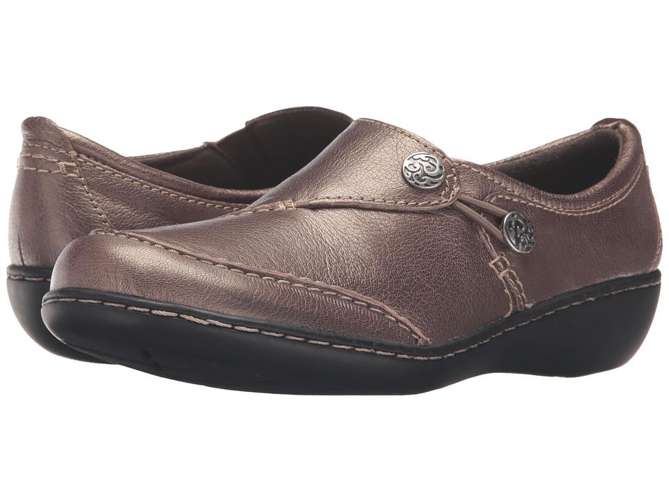 Clarks Ashland Lane Q (Pewter) Women's Shoes