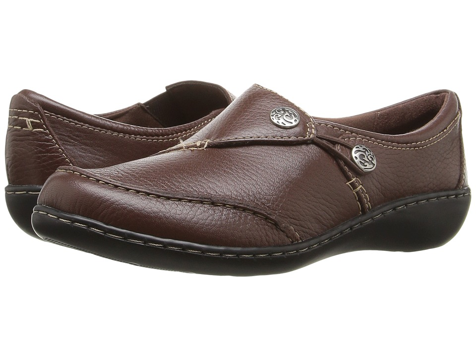 Clarks Ashland Lane Q (Redwood) Women's Shoes
