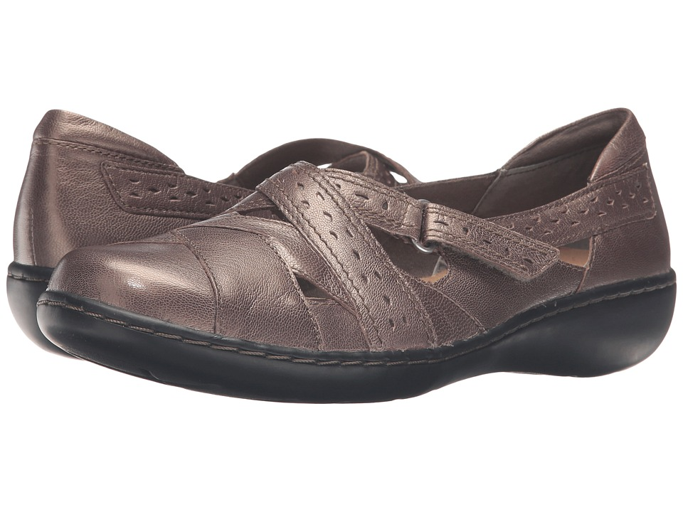Clarks Ashland Spin Q (Pewter) Women's Shoes
