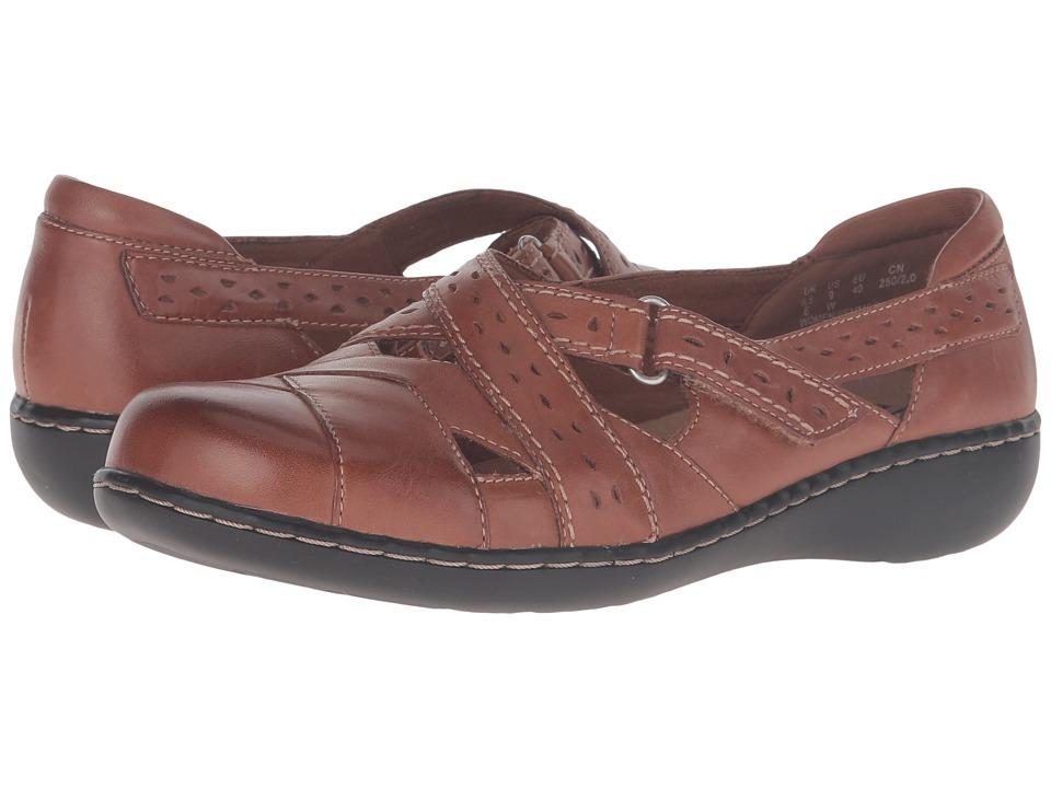 Clarks Ashland Spin Q (Tan) Women's Shoes
