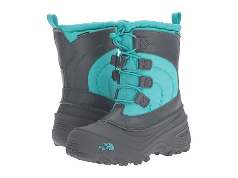 The North Face Kids Alpenglow Lace (Toddler/Little Kid/Big Kid) - Dark Shadow Grey/Ion Blue