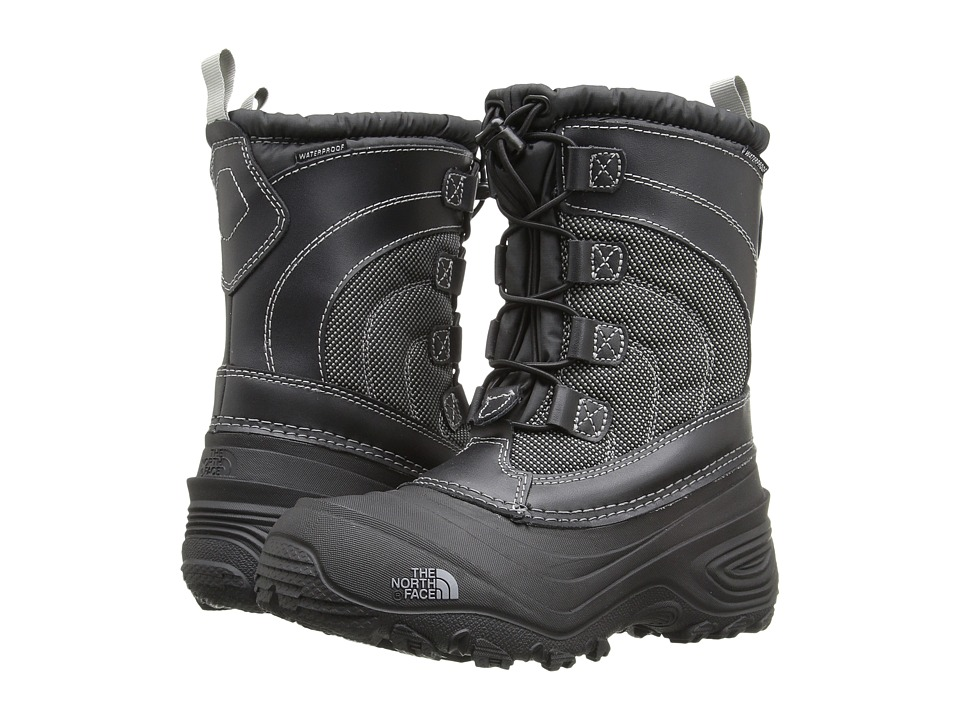 The North Face Kids Alpenglow IV (Toddler/Little Kid/Big Kid) (TNF Black/TNF Black) Kids Shoes