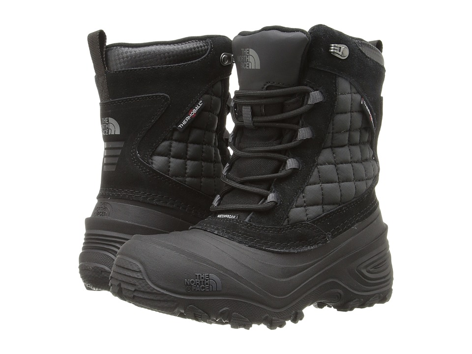 The North Face Kids ThermoBall Utility (Toddler/Little Kid/Big Kid) (TNF Black/Dark Shadow Grey) Boys Shoes