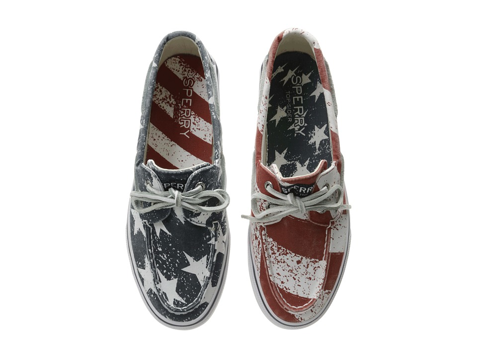 Sperry Top-Sider Bahama Stars Stripes (Red/White/Blue) Men