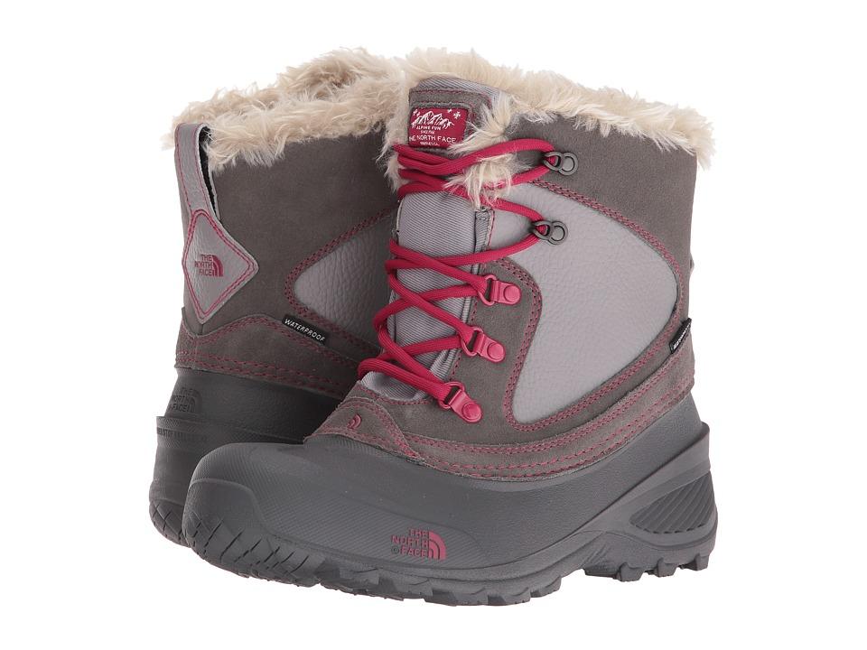The North Face Kids - Shellista Extreme (Toddler/Little Kid/Big Kid) (Dark Gull Grey/Cerise Pink) Girls Shoes