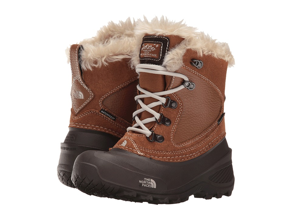 The North Face Kids - Shellista Extreme (Toddler/Little Kid/Big Kid) (Dachshund Brown/Moonlight Ivory) Girls Shoes