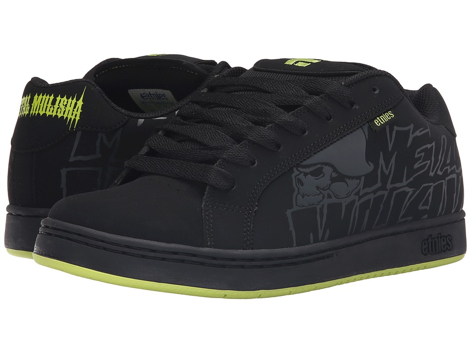 etnies - Fader x Metal Mulisha (Black/Black) Mens Skate Shoes