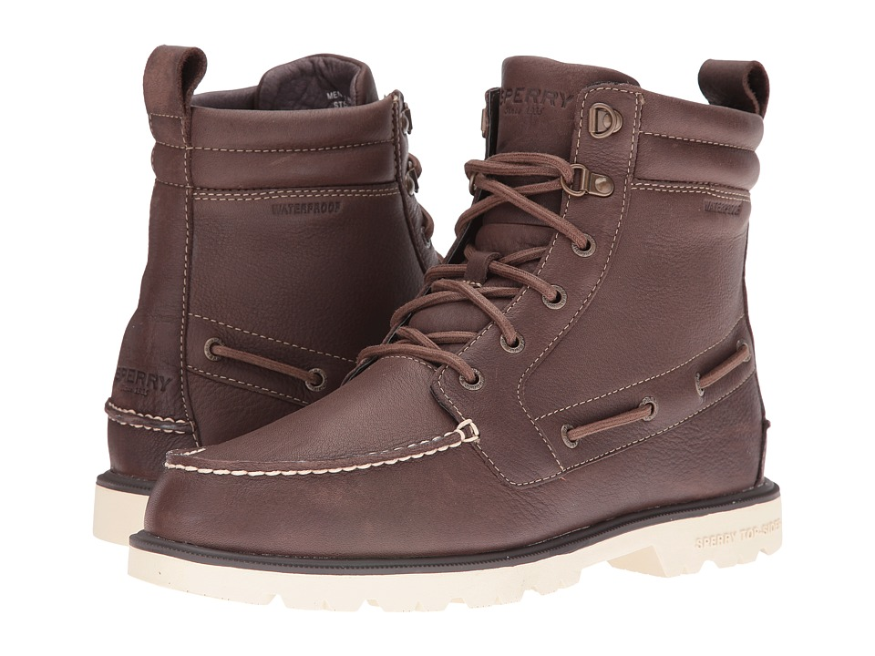 Sperry Top-Sider - A/O Lug Waterproof Boot (Dark Brown) Men