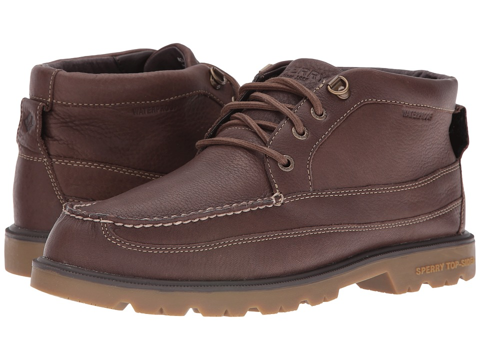 Sperry Top-Sider - A/O Lug Boat Chukka Waterproof Boot (Brown) Men