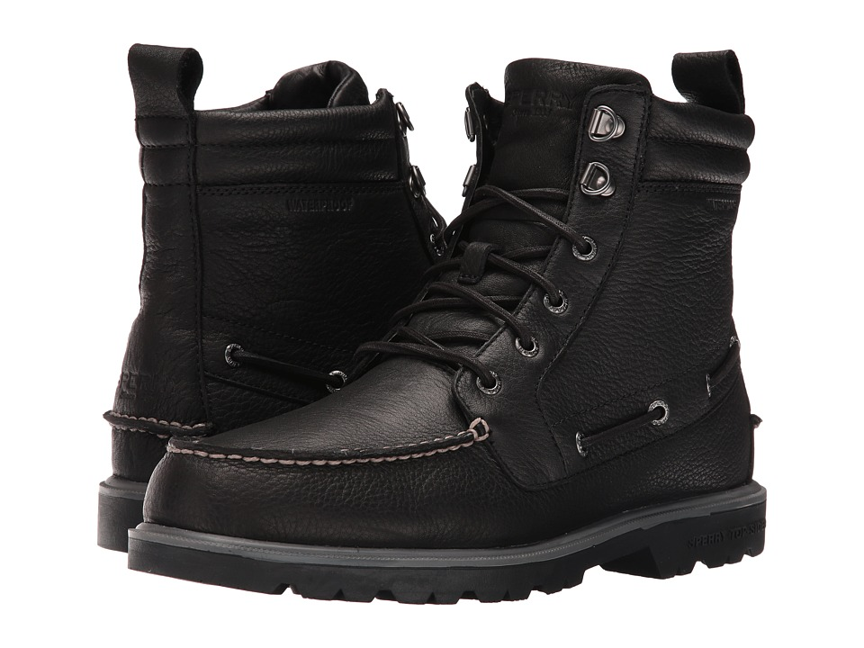 Sperry Top-Sider - A/O Lug Waterproof Boot (Black) Men