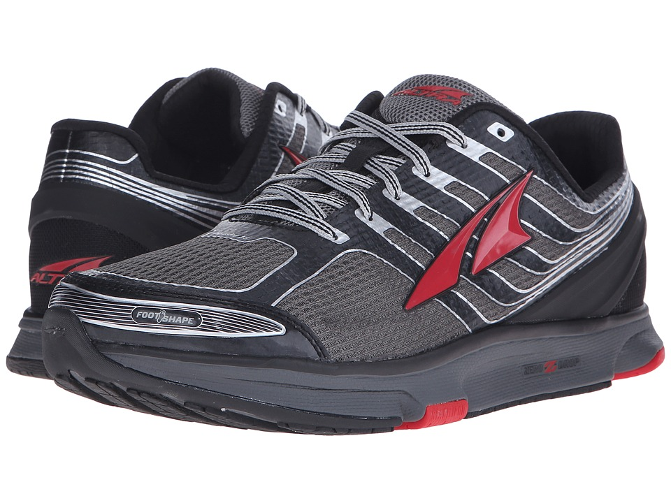 Altra Footwear Provision 2.5 Black/Racing Red Mens Running Shoes