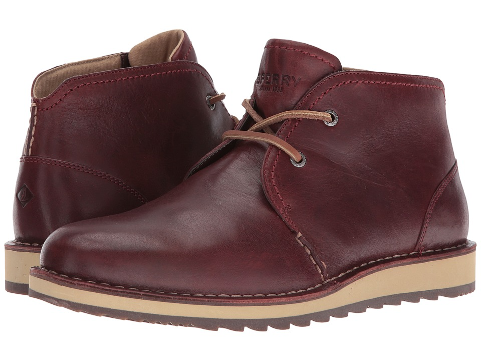 Sperry Top-Sider Dockyard Chukka (Burgundy) Men