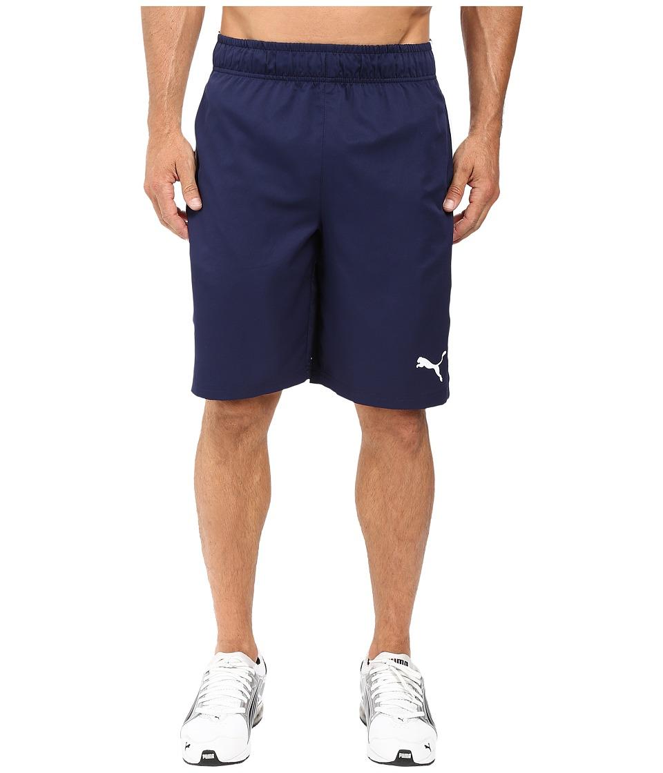 PUMA Formstripe Woven 10 Shorts (Peacoat/White) Men