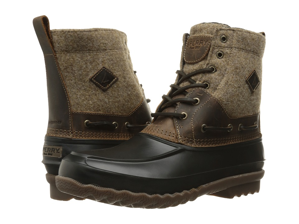 Sperry Top-Sider - Decoy Boot Wool (Dark Tan) Men