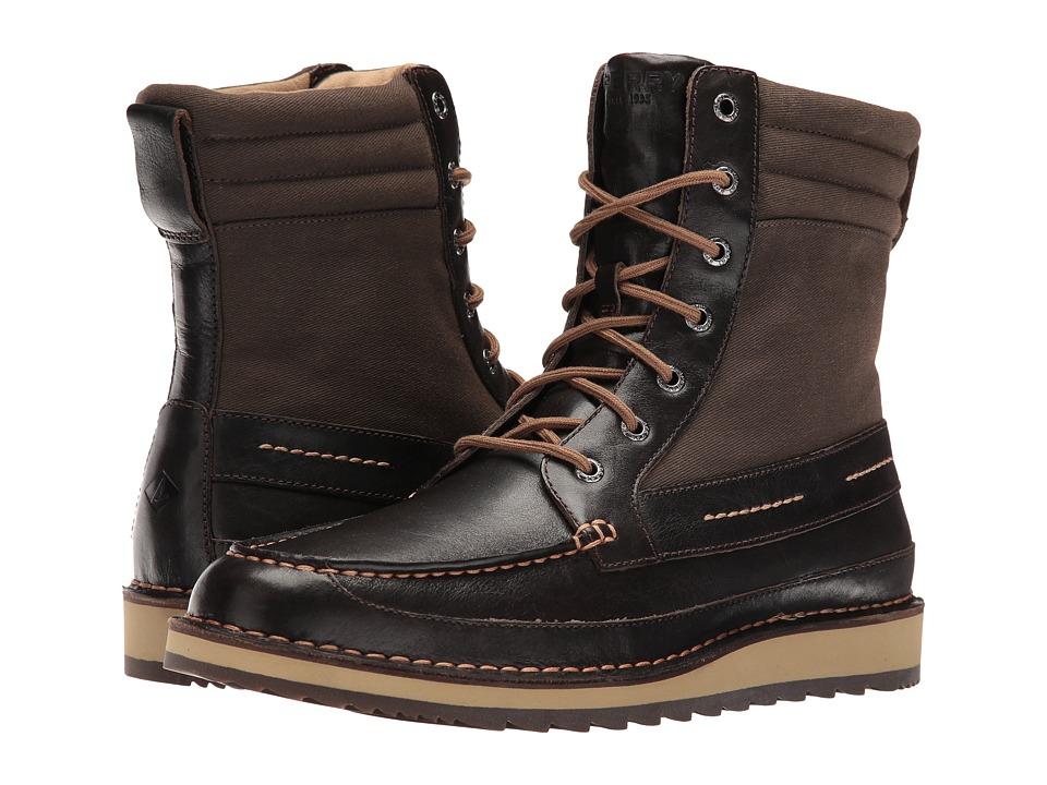 Sperry Top-Sider Dockyard Boot (Dark Brown) Men
