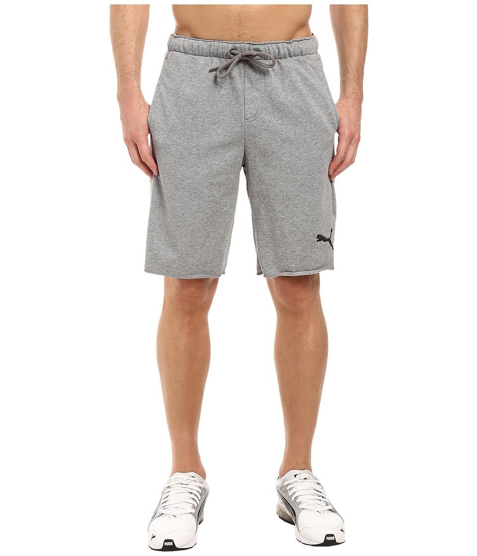 PUMA P48 Core 10 Shorts TR (Medium Gray Heather) Men