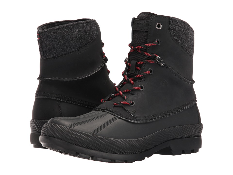 Sperry Top-Sider Cold Bay Sport Boot w/ Vibram Arctic Grip (Black) Men