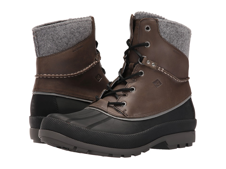 Sperry Top-Sider Cold Bay Boot w/ Vibram Arctic Grip (Grey) Men