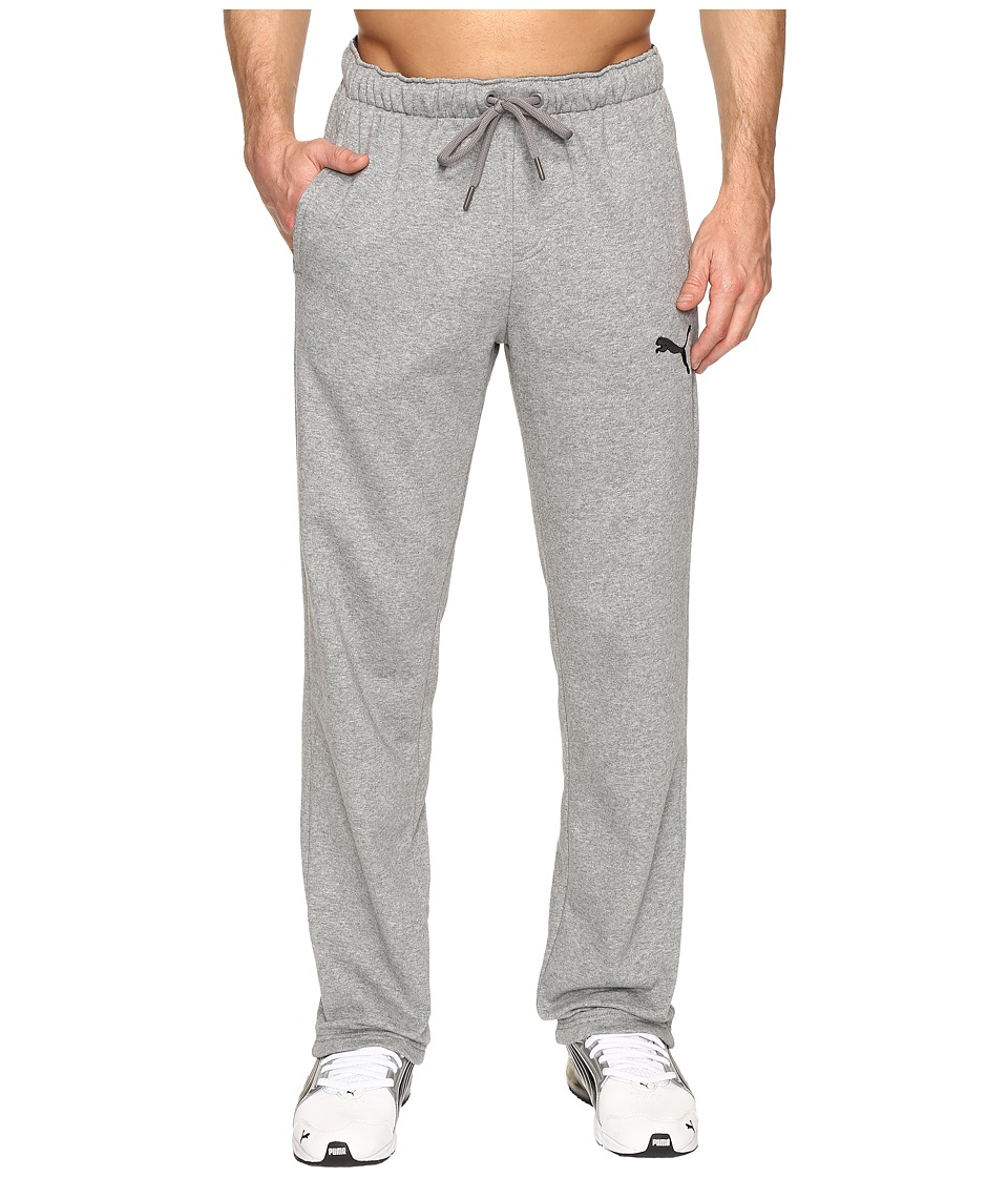 PUMA - P48 Core Fleece Pants OP (Medium Gray Heather) Mens Casual Pants