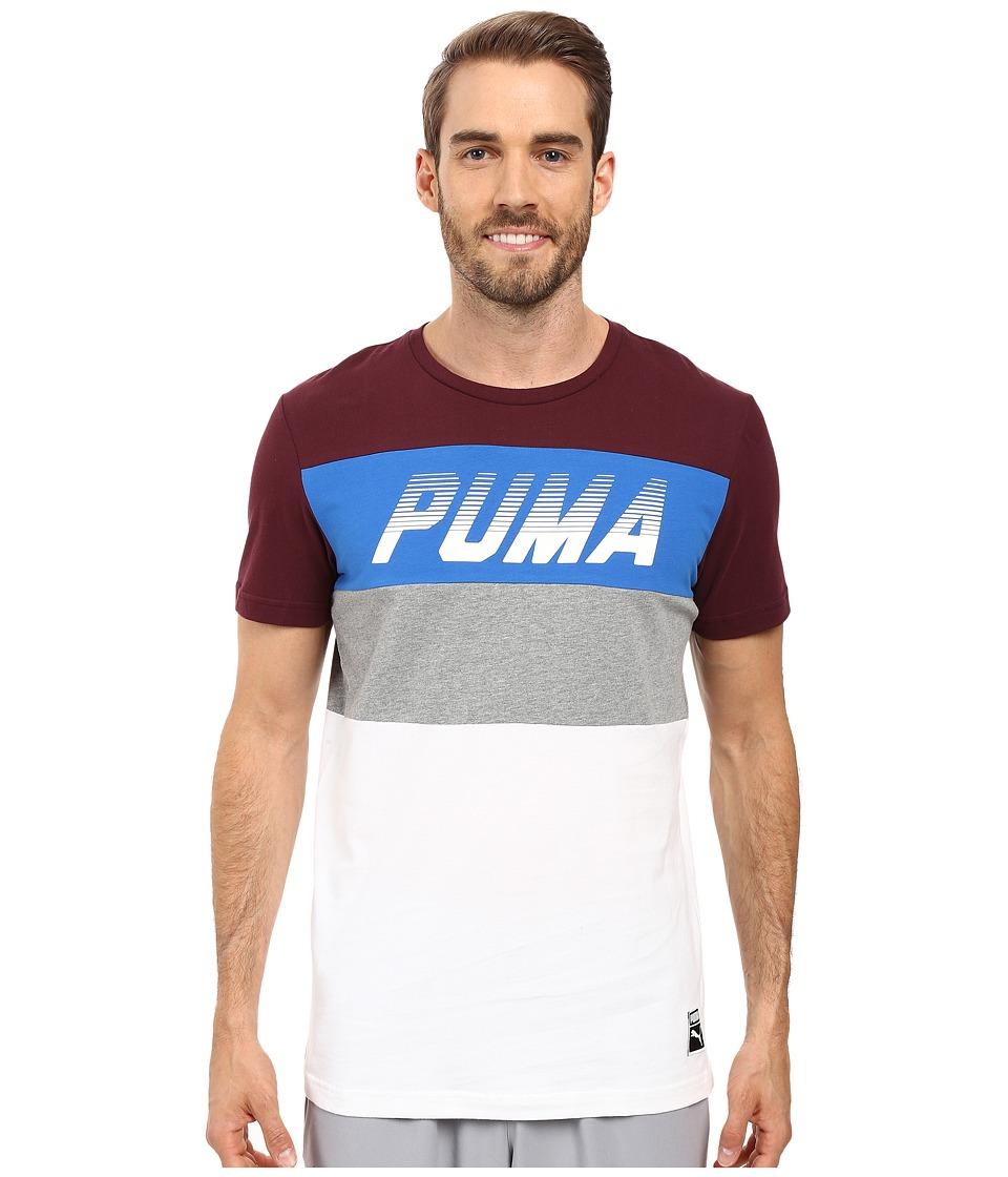 PUMA - Speed Font Tee (Winetasting) Men