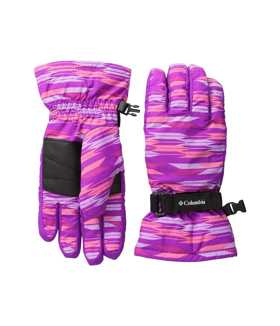 Columbia Core Glove (Big Kids) (Bright Plum Arrows/Bright Plum) Extreme Cold Weather Gloves