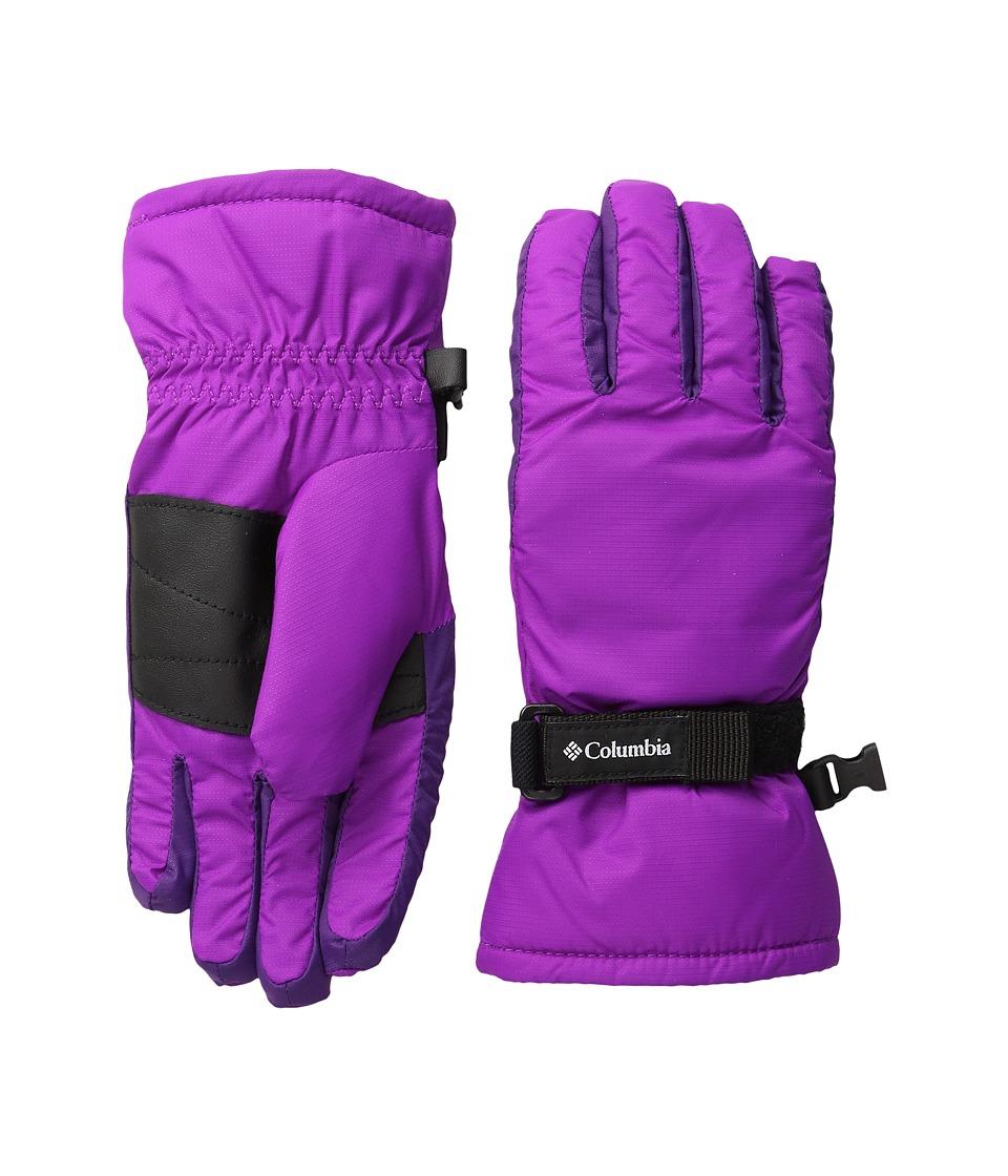 Columbia Core Glove (Big Kids) (Bright Plum/Iris Glow) Extreme Cold Weather Gloves