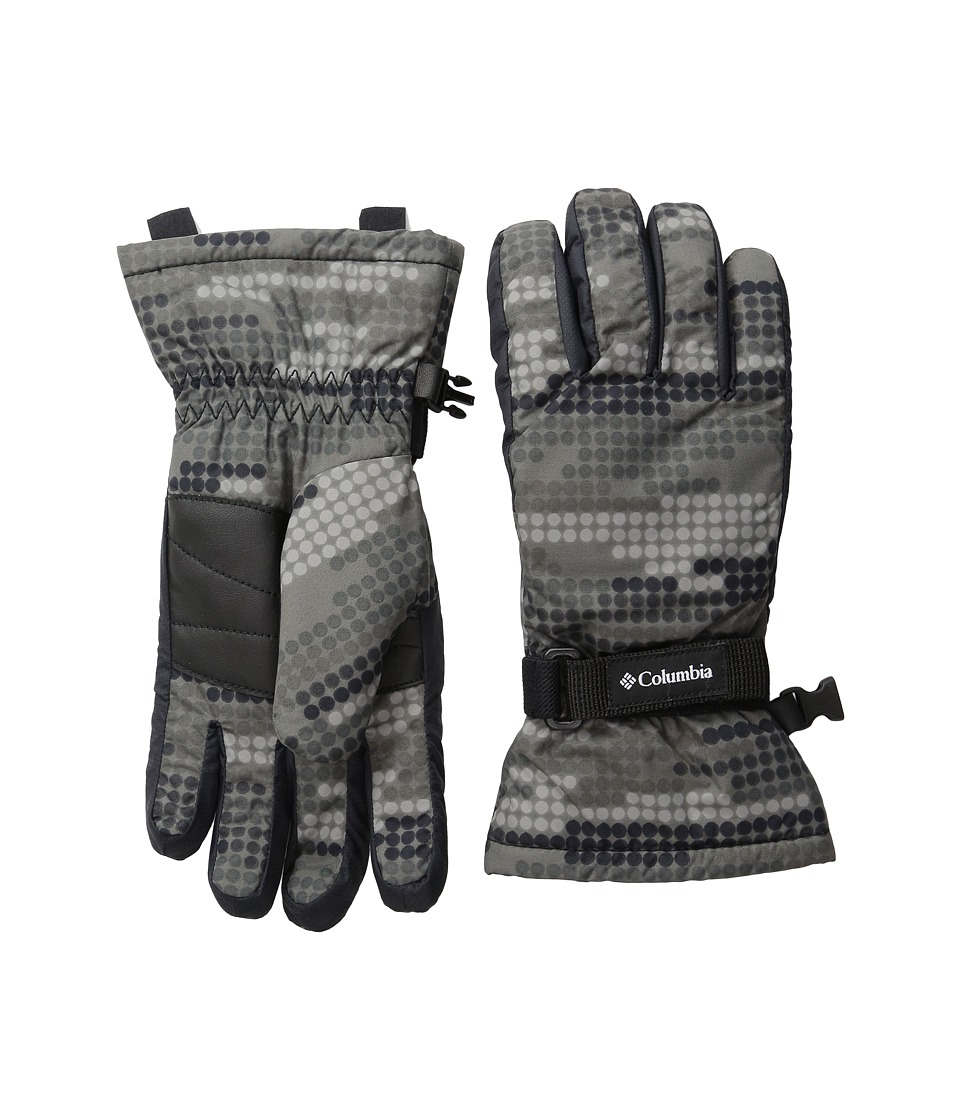 Columbia Core Glove (Big Kids) (Black Digi Dot Print/Black) Extreme Cold Weather Gloves