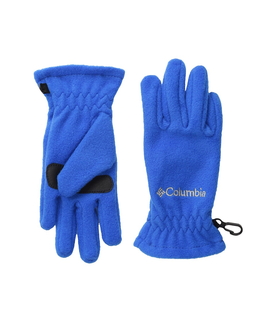 Columbia Thermarator Glove (Big Kids) (Super Blue) Extreme Cold Weather Gloves