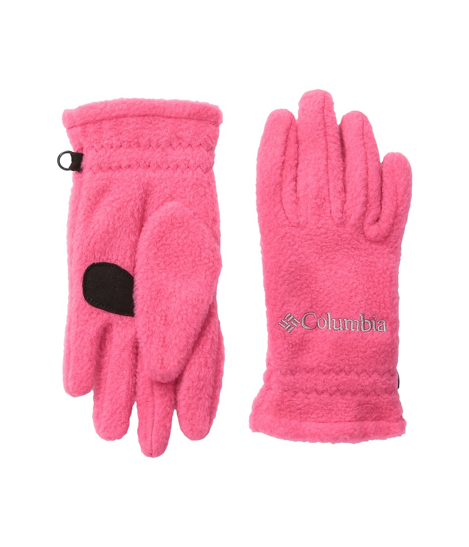 Columbia Fast Trek Glove (Big Kids) (Punch Pink) Extreme Cold Weather Gloves