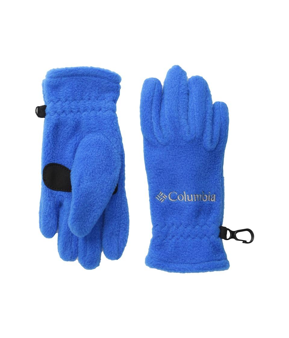 Columbia Fast Trek Glove (Big Kids) (Super Blue) Extreme Cold Weather Gloves