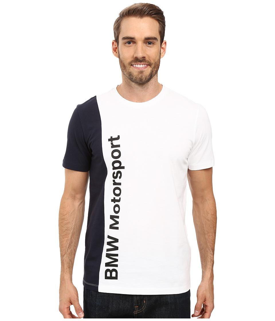 PUMA - Bmw Msp Tee (PUMA White) Men