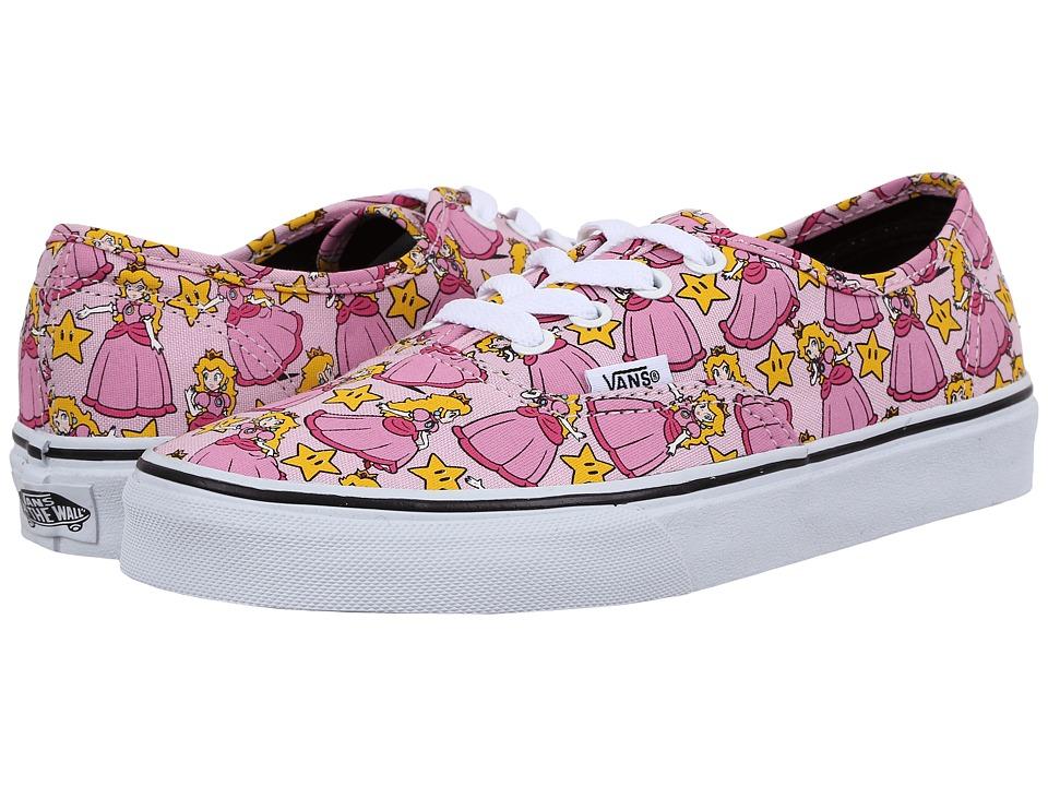 Vans - Authentic X Nintendo ((Nintendo) Princess Peach) Skate Shoes