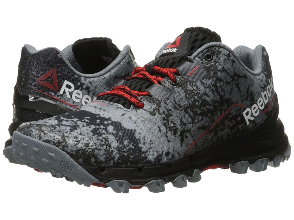 Reebok - All Terrain Thrill (Asteroid Dust/Black/Riot Red) Men