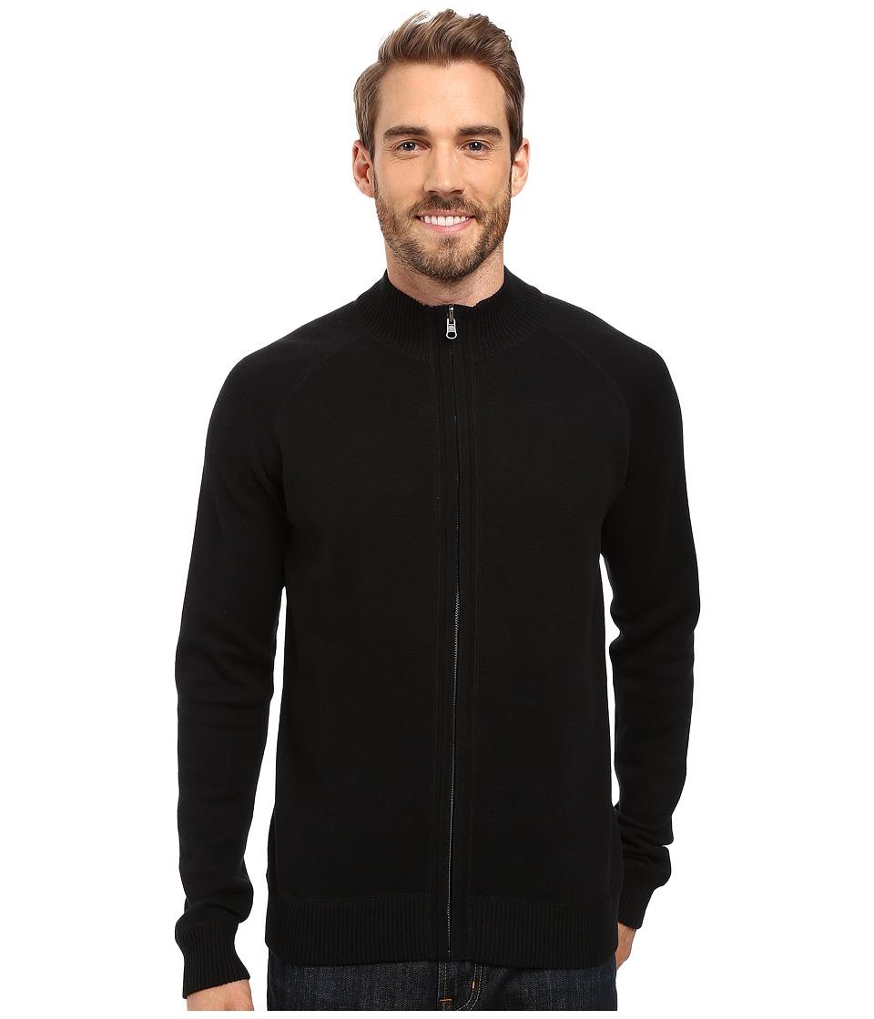 Ecoths Nolan Sweater (Black/Ombre Blue) Men