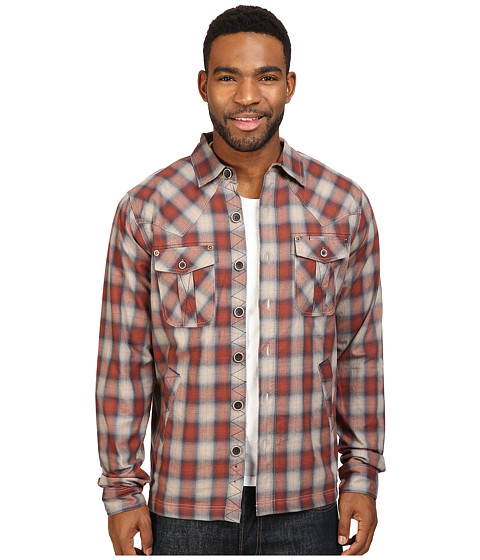 Ecoths Cooper Shirt Jacket - Henna