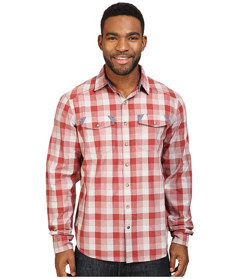 Ecoths Jett Long Sleeve Shirt - Tabasco