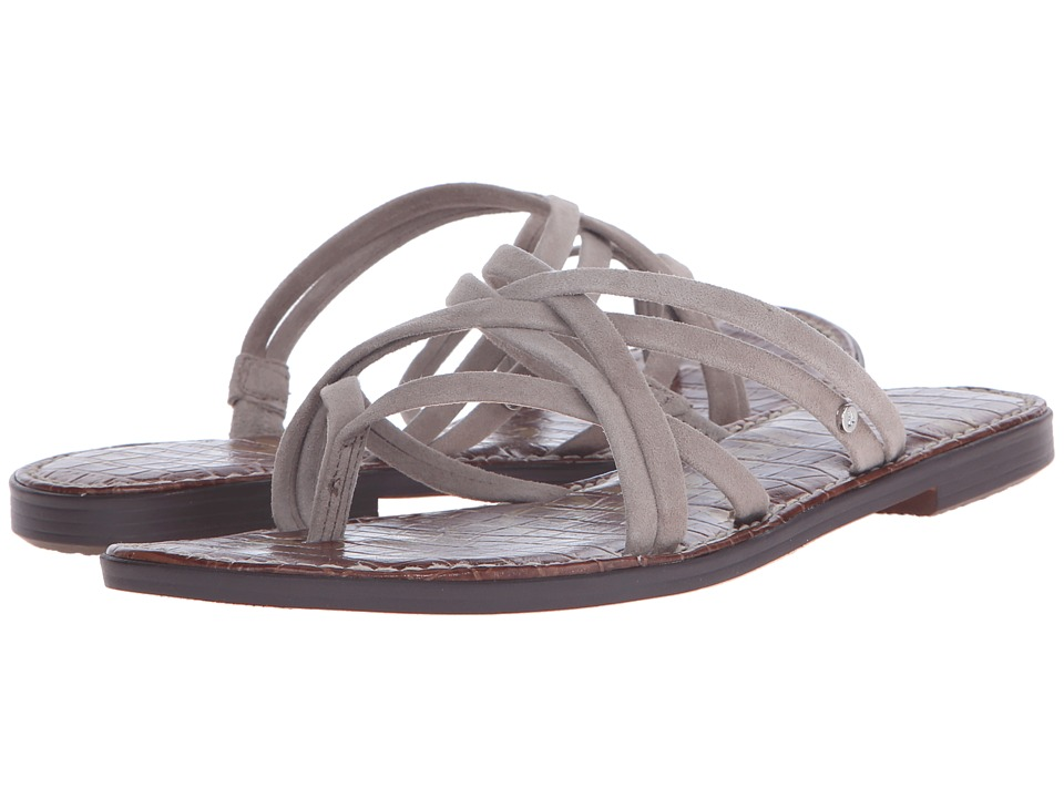 Sam Edelman Georgette Putty Kid Suede Leather Womens Sandals