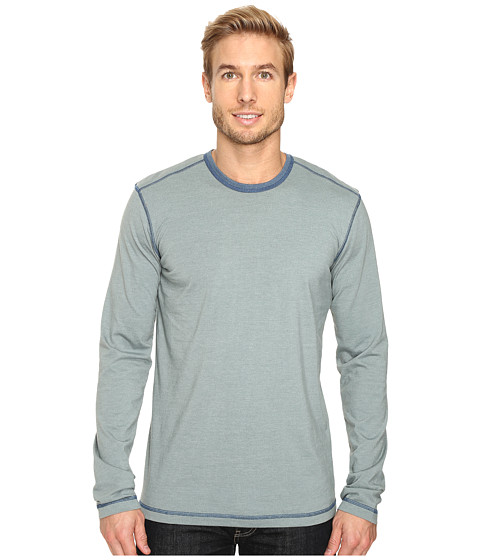 Ecoths Asher Long Sleeve Shirt - Stormy Sea