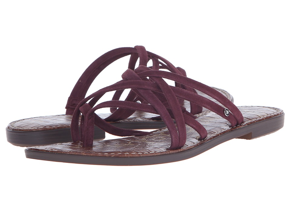 Sam Edelman Georgette Sangira Kid Suede Leather Womens Sandals