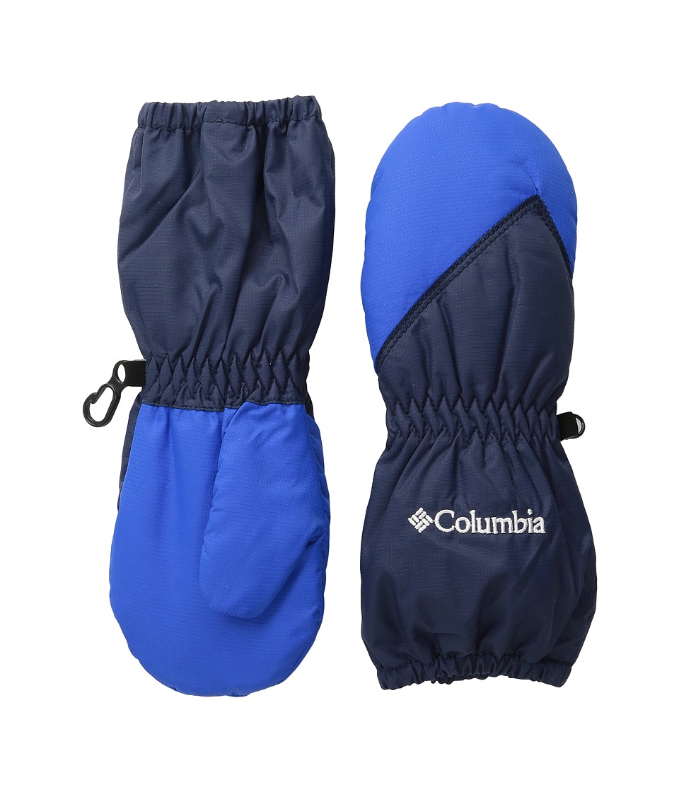Columbia Chippewatm Long Mitten (Toddler) (Collegiate Navy/Super Blue) Extreme Cold Weather Gloves