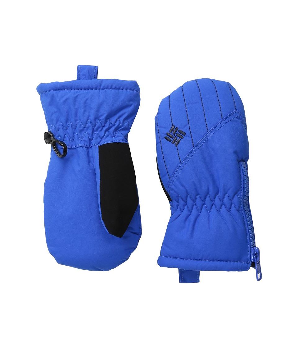 Columbia Chippewa III Mitten (Toddler) (Super Blue/Collegiate Navy) Snowboard Gloves