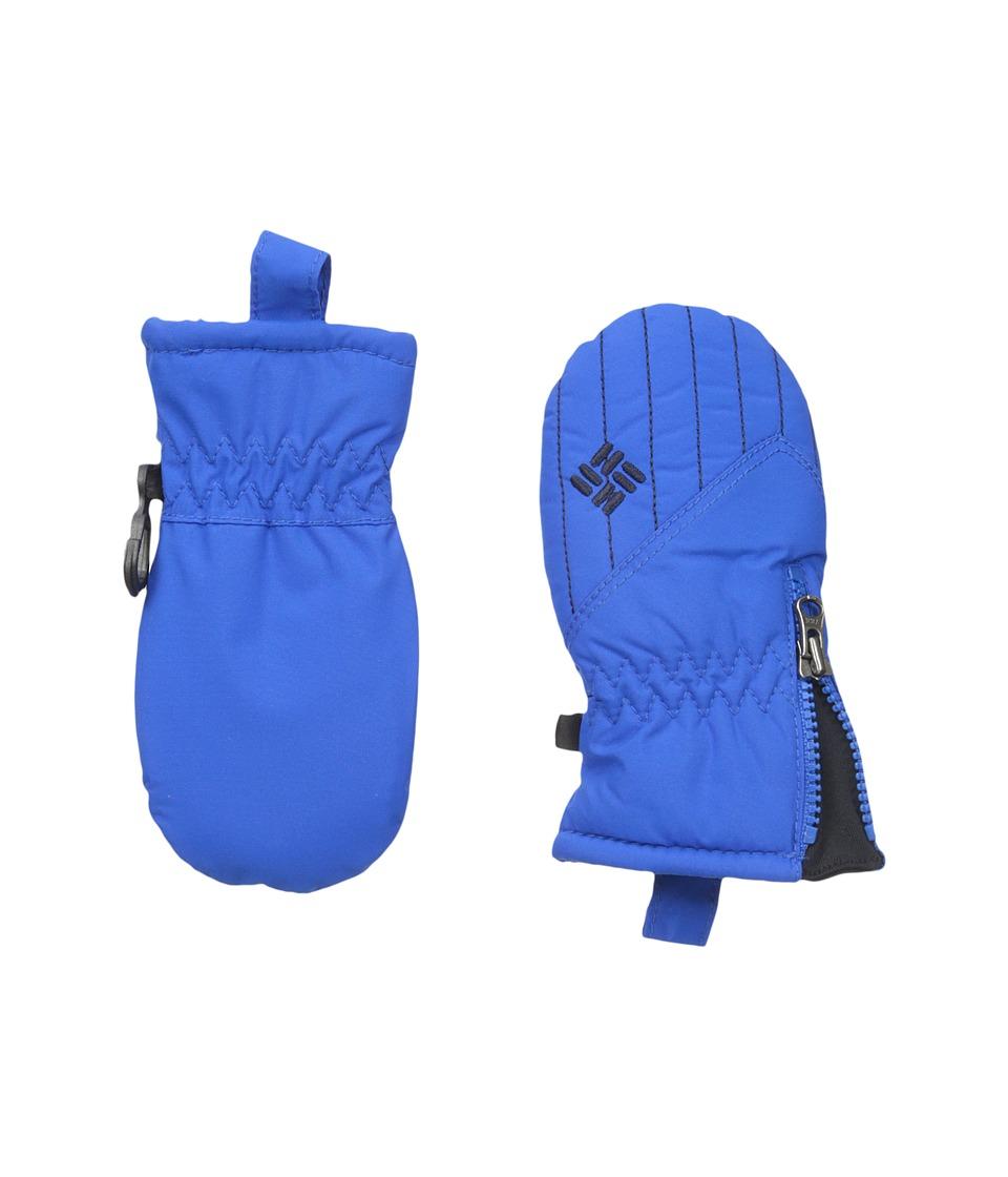 Columbia Chippewatm III Mitten (Infant) (Super Blue/Collegiate Navy) Snowboard Gloves