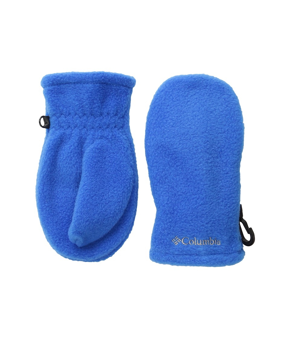 Columbia Fast Trektm Mitten (Toddler) (Super Blue) Extreme Cold Weather Gloves
