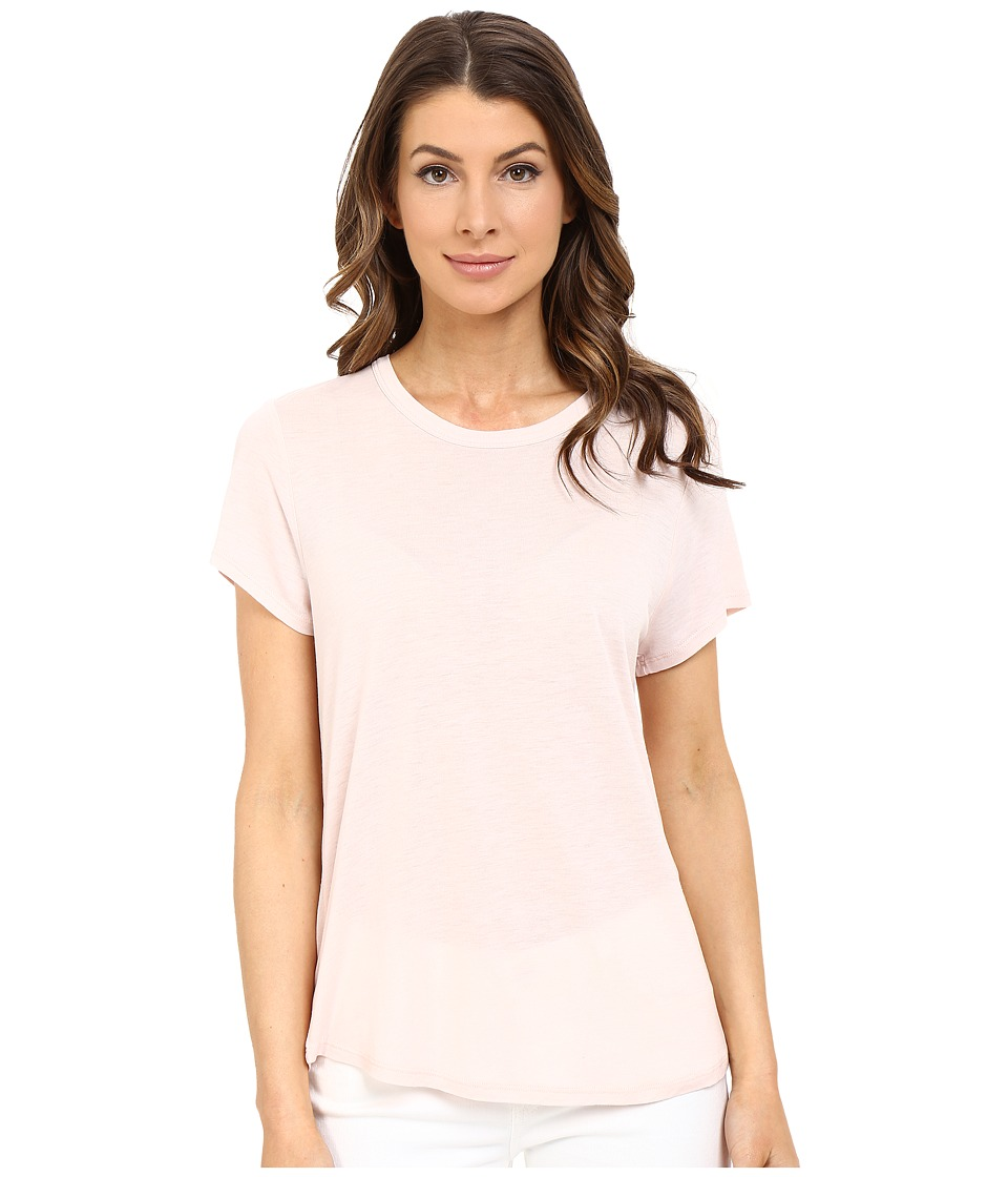 The Beginning Of Cashmere Modal Effie Perfect Fit Tee Petal Womens T Shirt