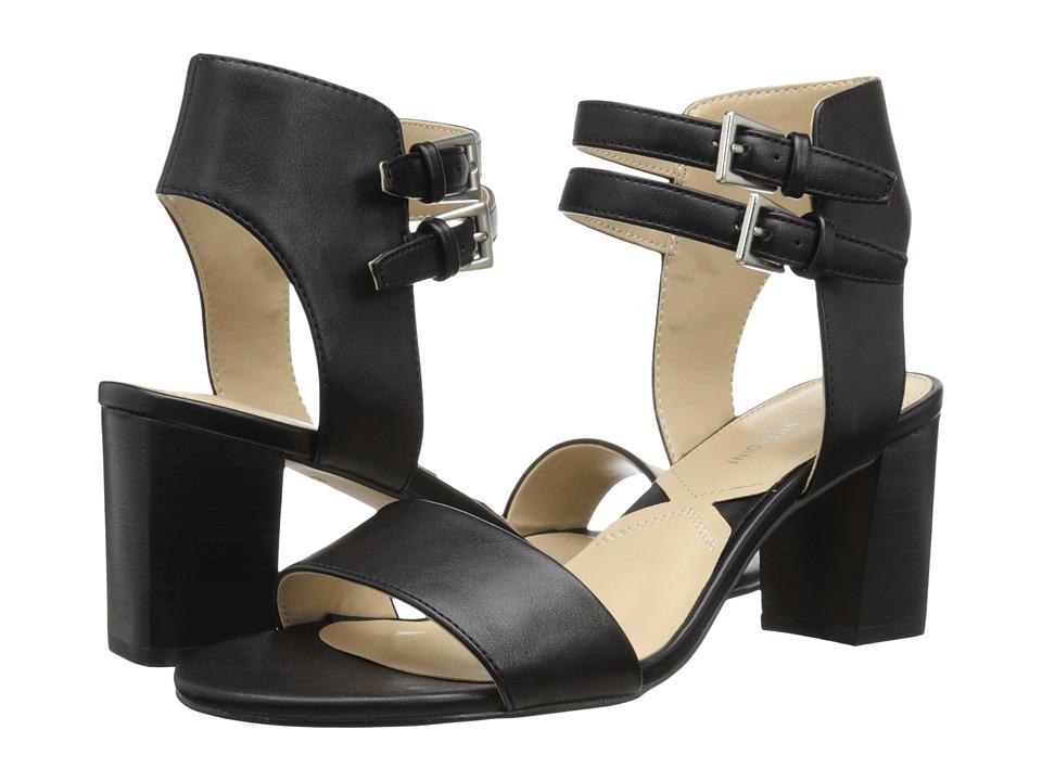 Adrienne Vittadini Palti Black Smooth High Heels
