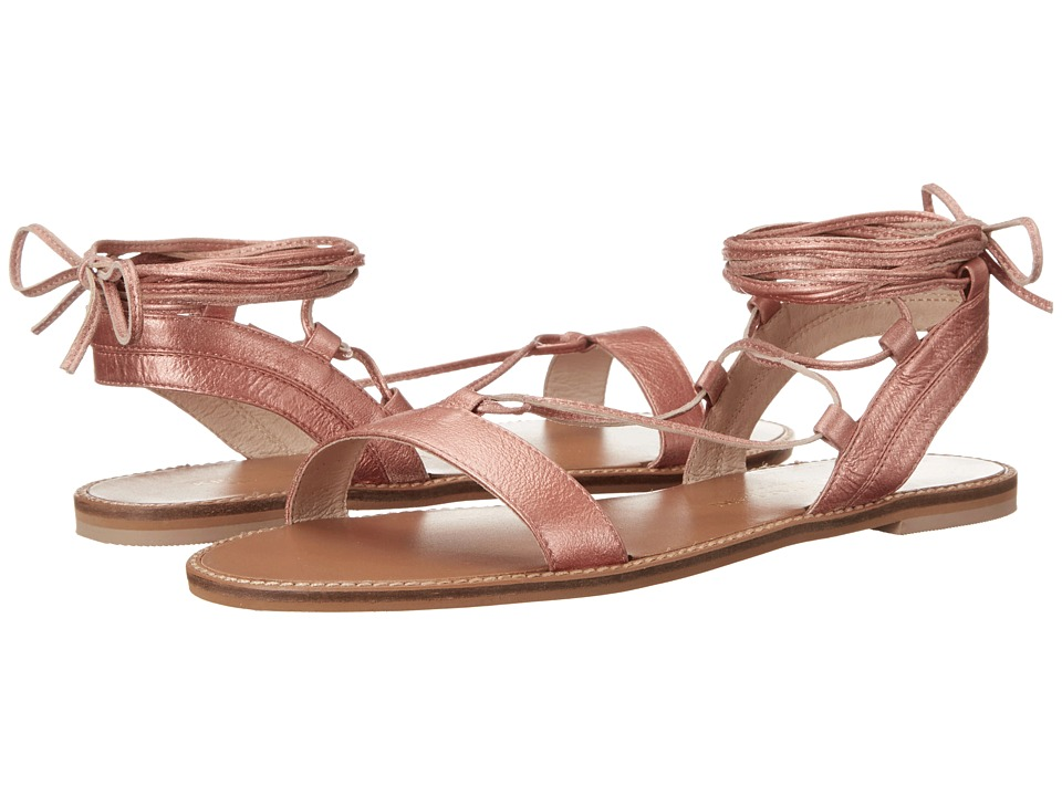 Kristin Cavallari Belle Coral Tumbled Leather Womens Sandals