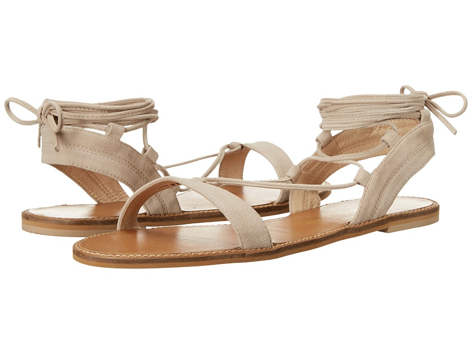 Kristin Cavallari Belle Mushroom Kid Suede Womens Sandals