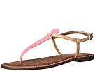 Sam Edelman - Gigi (Bubblegum Pink/Natural Naked Patent/Naked Atanado Leather)