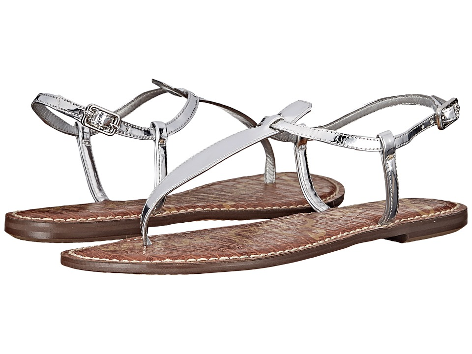 Sam Edelman Gigi (Soft Silver Liquid Metallic) Sandals